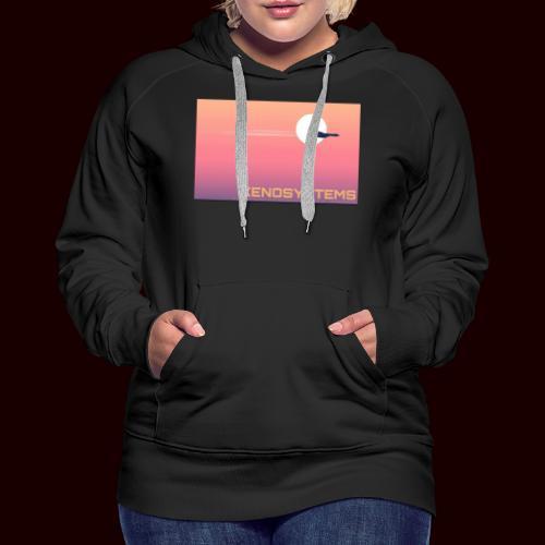 Xeno système - Sweat-shirt à capuche Premium pour femmes