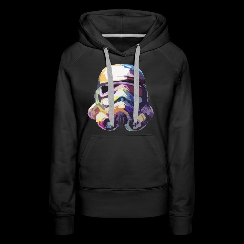 Stormtrooper with Hope - Women's Premium Hoodie