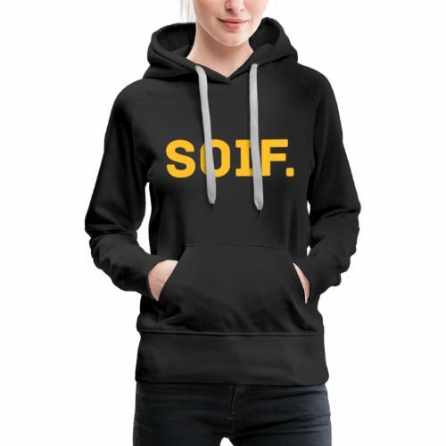 Soif - Vrouwen Premium hoodie