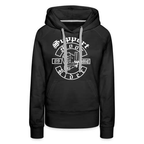 Support_Shirt_Brust - Frauen Premium Hoodie
