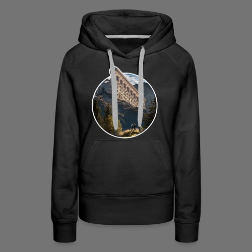 House in the Mountain - Frauen Premium Hoodie