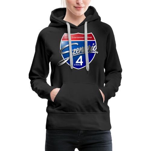 Steig4 - Szenario - Logo - Frauen Premium Hoodie
