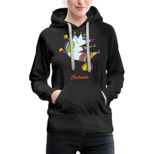 Electronuts - Sweat-shirt à capuche Premium pour femmes