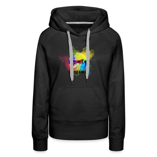 World is Greeting FridaysforFuture - Frauen Premium Hoodie