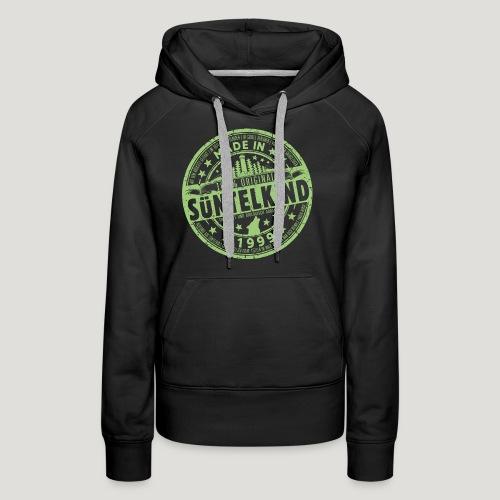 SÜNTELKIND 1999 - Das Süntel Shirt mit Süntelturm - Frauen Premium Hoodie