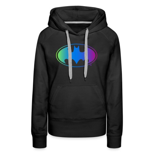 Logo Rainbow - Frauen Premium Hoodie