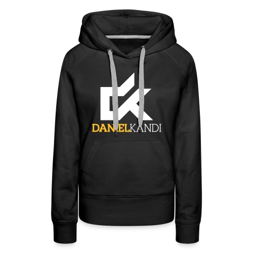 kandi black background - Women's Premium Hoodie