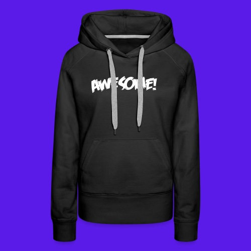 awesome png - Women's Premium Hoodie