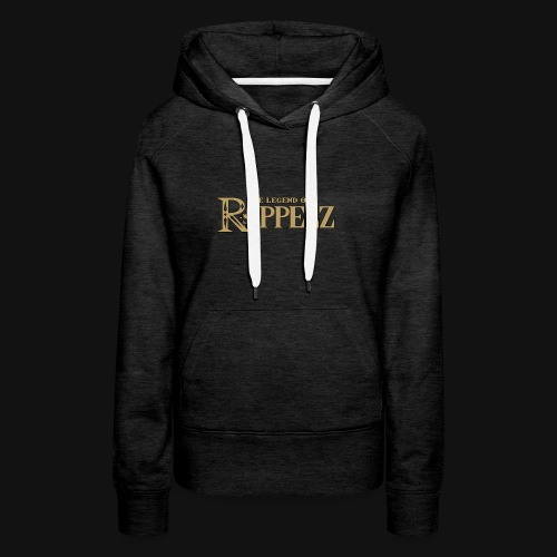 Rippelz - The Legend of Rippelz (Schriftzug only) - Frauen Premium Hoodie