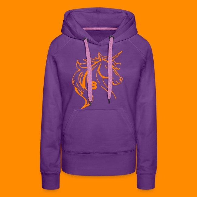 orange biodusty unicorn shirt
