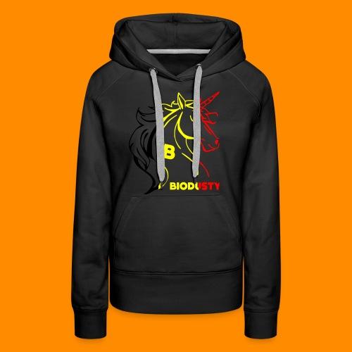 belgian biodusty unicorn hoodie unisex - Vrouwen Premium hoodie