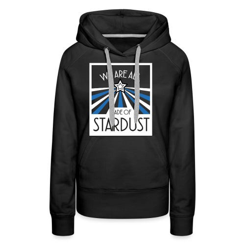 Star Dust - Sweat-shirt à capuche Premium pour femmes