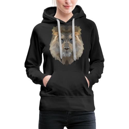 Lion head only - Frauen Premium Hoodie