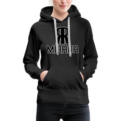 Mirror college hoodie *PRINTED* - Felpa con cappuccio premium da donna