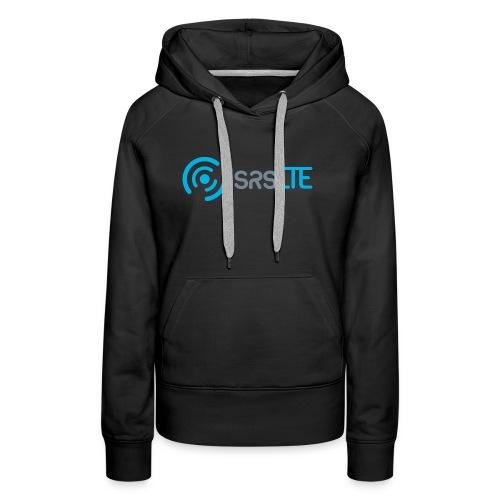 srsLTE grey/blue front/black dark - Women's Premium Hoodie