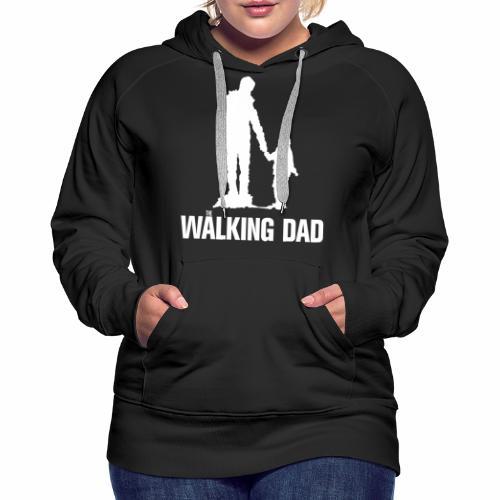 Walking Dad, Rahmen - Frauen Premium Hoodie