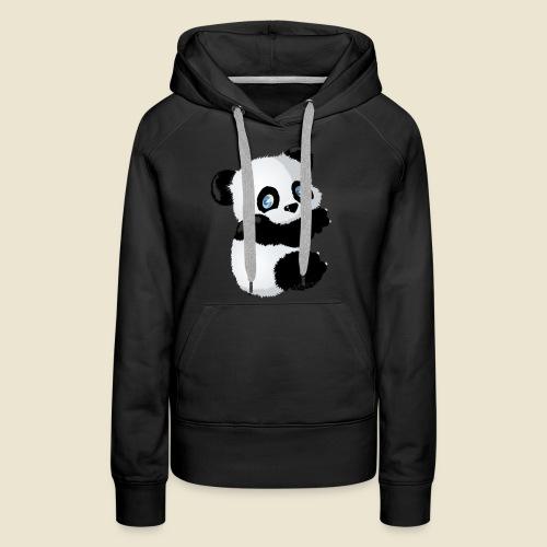 Bébé Panda - Sweat-shirt à capuche Premium pour femmes