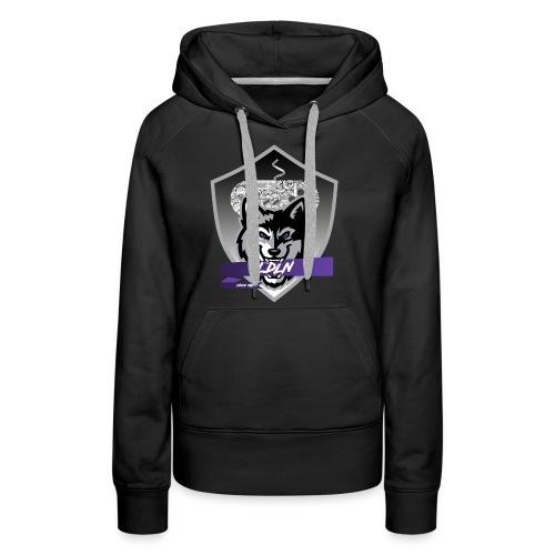 Le logo de la Légion de la Nuit - Sweat-shirt à capuche Premium pour femmes