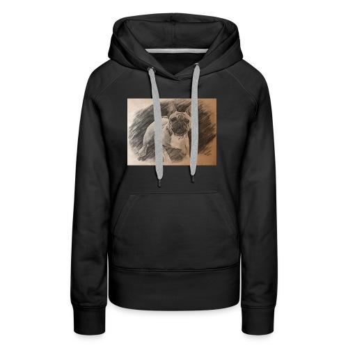 Französische Bulldogge Babsy - Frauen Premium Hoodie