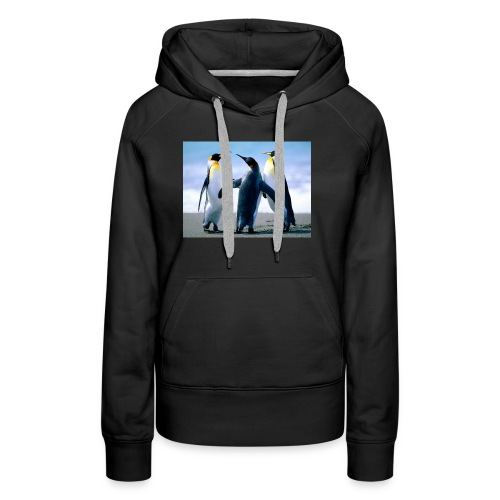 Penguins - Premium hettegenser for kvinner