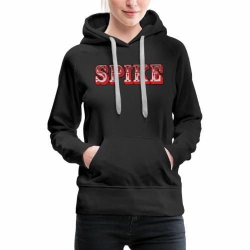 Spike Design 1 - Felpa con cappuccio premium da donna