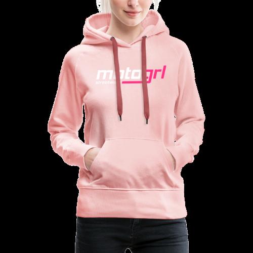 MotoGrl Streetwear - Naisten premium-huppari