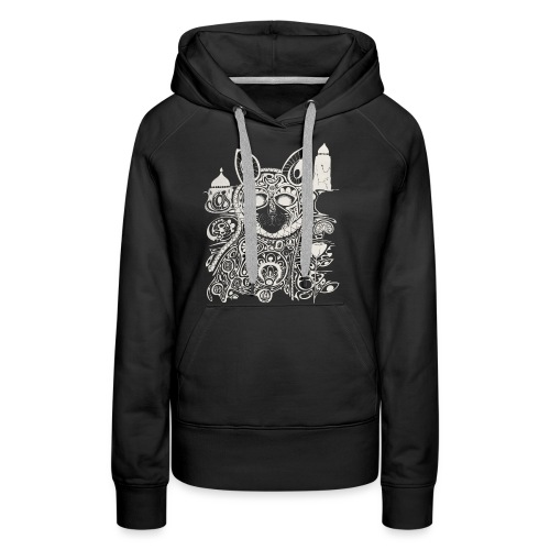 The Heart Is A Golden Fractal - Women's Premium Hoodie