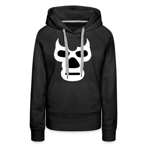 Wrestling_Maske_Daemon - Frauen Premium Hoodie