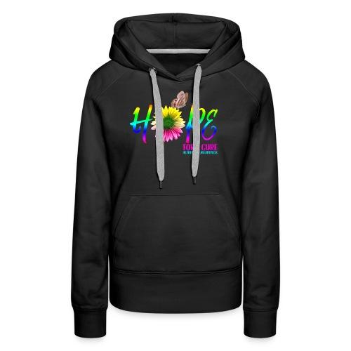 Hope For A Cure Alzheimer Awareness - Women's Premium Hoodie