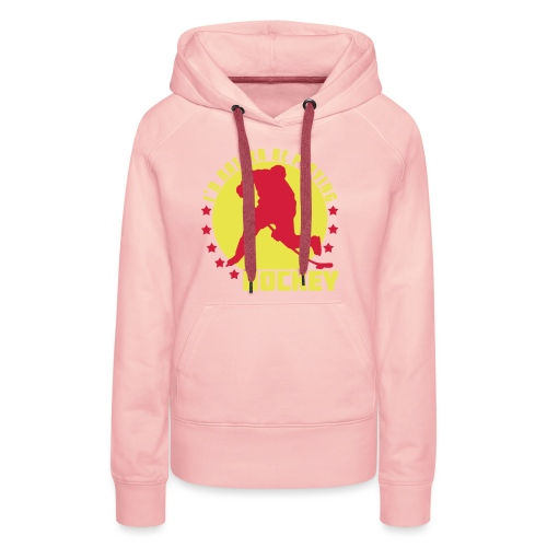 id_rather_be_playing_hock - Women's Premium Hoodie
