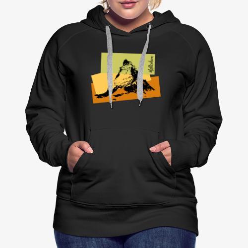 Matterhorn - Women's Premium Hoodie