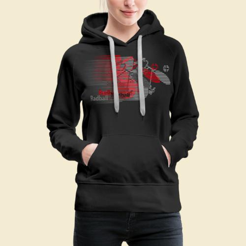 Radball | Earthquake Red - Frauen Premium Hoodie