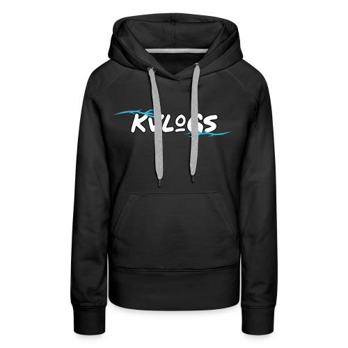 K Vlogs - Vrouwen Premium hoodie