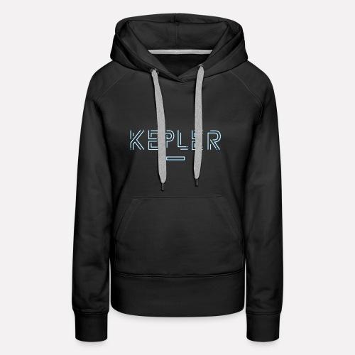 KEPLER - Sweat-shirt à capuche Premium pour femmes