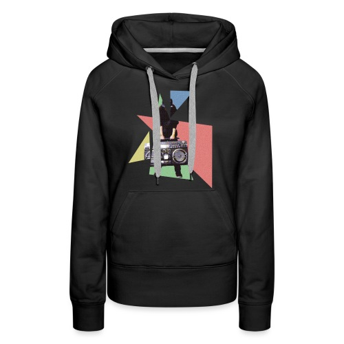 StereoGirl concept2 2 png - Vrouwen Premium hoodie