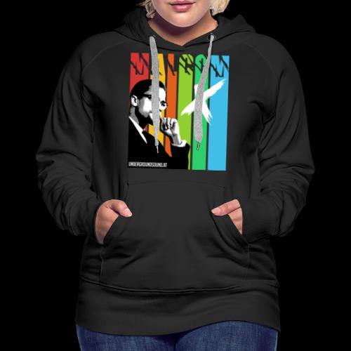 MALCOM X colourful - Frauen Premium Hoodie