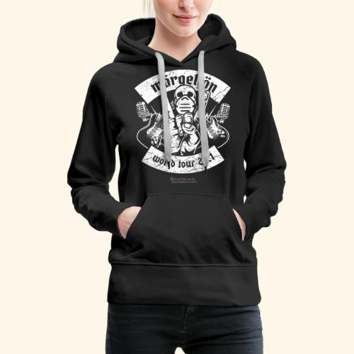 Morgellon Heavy Metal Band T-Shirt World Tour 2021 - Frauen Premium Hoodie