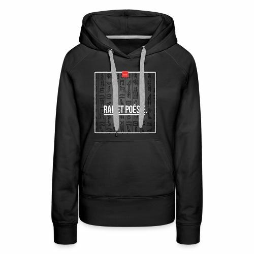 trilogie - Sweat-shirt à capuche Premium pour femmes