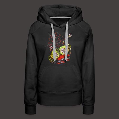 SPIDER KIWI - Sweat-shirt à capuche Premium pour femmes