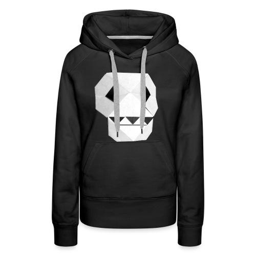 Origami Skull - Skull Origami - Calavera - Teschio - Women's Premium Hoodie