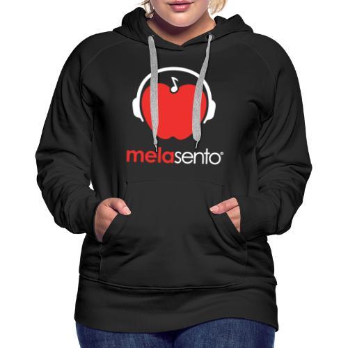 MelaSento - Felpa con cappuccio premium da donna