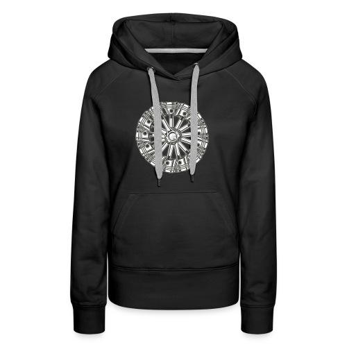 zuiger rol - Vrouwen Premium hoodie