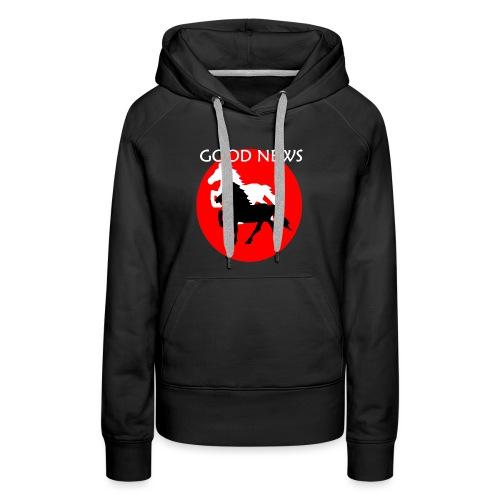 COCOLORS - Sweat-shirt à capuche Premium pour femmes