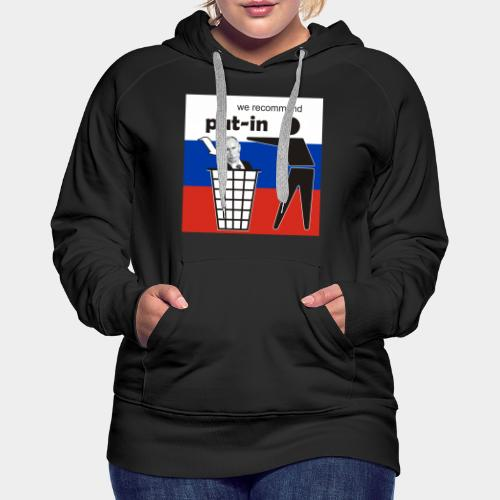 GHB Put in for recycling 190320181 - Frauen Premium Hoodie
