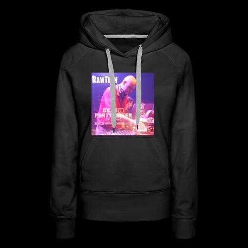 Rawtech @ BKJN vs Partyraiser festival 2018 - Vrouwen Premium hoodie
