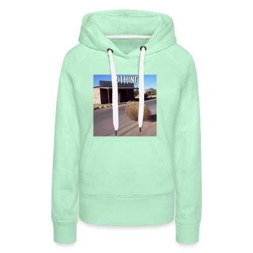 NOTHING - Sweat-shirt à capuche Premium pour femmes