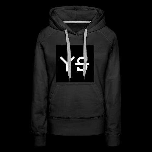 YeetSkeet Letter Logo - Women's Premium Hoodie