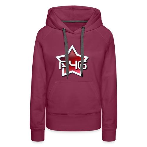 logo P4G 2 5 - Sweat-shirt à capuche Premium pour femmes