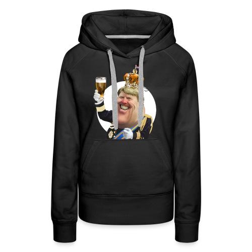 Willem-Alexander T-Shirt - Vrouwen Premium hoodie