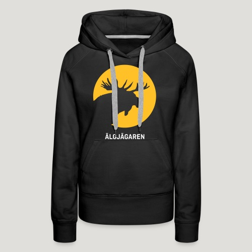 Älgjägaren - moose hunter (swedish version) - Frauen Premium Hoodie